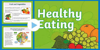 Healthy Eating PowerPoint - Australia YR 3 and 4 Design Technology, design a menu, design your diet, food labels, design food la