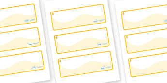Aspen Themed Editable Drawer-Peg-Name Labels (Colourful) - Themed Classroom Label Templates, Resource Labels, Name Labels, Editable Labels, Drawer Labels, Coat Peg Labels, Peg Label, KS1 Labels, Foundation Labels, Foundation Stage Labels, Teaching La