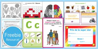 Free France Sample Teaching Resource Pack - Free, sample pack, France, teaching, Twinkl