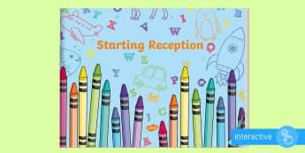 EYFS Starting Reception eBook