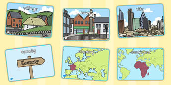 My Place in the World Display Posters - display, images, place
