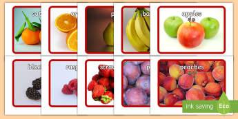 Fruit Flashcards English/Mandarin Chinese - Fruit Flashcards - fruit, flashcards, flash cards, food, eal, activity, flashards, flascards, EAL