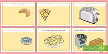 La panetteria Tappetino Plastilina - tappetini, tappetino, plastilina, playdough, pleid; italiano, italian, pane, panetteria, forno, mate