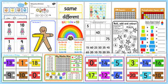 Teaching Assistant Maths Skill Intervention Pack - numeracy