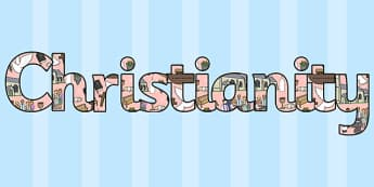 Christianity Display Lettering-christianity, display lettering, display, lettering, lettering for display, christianity letters, religion, RE