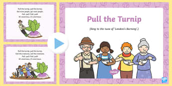Pull the Turnip Song PowerPoint
