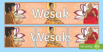 Wesak Display Banner - vesak wesak,byddah, buddism,