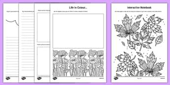 Teacher Doodle Activity Booklet
