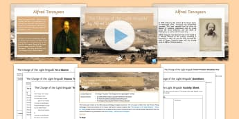 GCSE Poetry Lesson Pack to Support Teaching on  'The Charge of the Light Brigade'