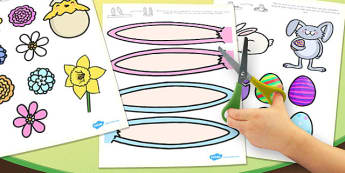 Afrikaans Make an Easter Bonnet Craft Activity Accessories - afrikaans, easter