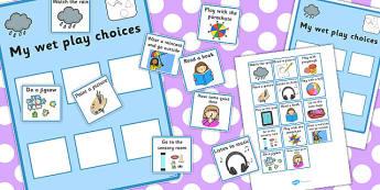 My Wet Play Choices - wet play, choices, board, card, sen, choice