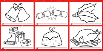 Christmas Colouring Sheets - Christmas, xmas, colouring, fine motor skills, poster, worksheet, tree, advent, nativity, santa, father christmas, Jesus, tree, stocking, present, activity, cracker, angel, snowman, advent , bauble
