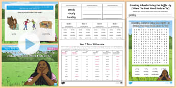 Year 3 Term 1B Week 3 Spelling Pack - Spelling Lists, Word Lists, Autumn Term, List Pack, SPaG