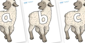 Phoneme Set on Lamb - Phoneme set, phonemes, phoneme, Letters and Sounds, DfES, display, Phase 1, Phase 2, Phase 3, Phase 5, Foundation, Literacy