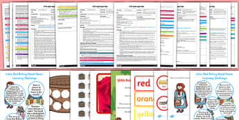 EYFS Little Red Riding Hood Adult Input Planning and Resource Pack - EYFS, early years planning, adult led