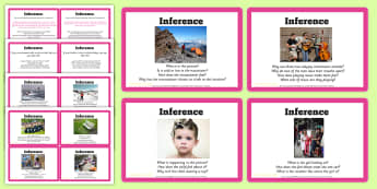 Guided Reading Skills Task Cards Inference  - Guided Reading Skills Task Cards Inference - guided reading, reding, inferential question, inferenti