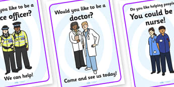 Recruitment Agency Role Play Posters-recruitment agency, role play, posters, role play posters, recruitment agency role play, display posters