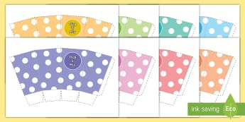 Pick and Mix Box Cut Out - pick n mix, sweets, sweet shop, craft, box, template, net
