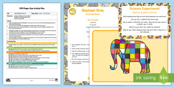 EYFS Making Elephant Berries Finger Gym Plan and Resource Pack - Elmer, David McKee, colour, funky fingers, play doh, play dough, elephant, patchwork