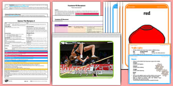 Foundation PE (Reception) - Games - The Olympics Lesson Pack 4: Avoid that Object - EYFS, PE, Physical Development, Planning