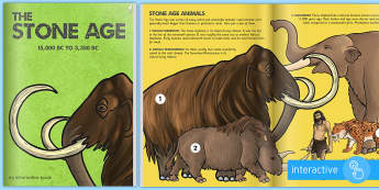 The Stone Age History ebook - stone age, history, ebook, eBook