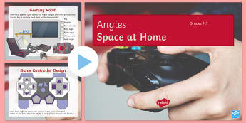 Space at Home Angles (GCSE Grades 1-3) PowerPoint