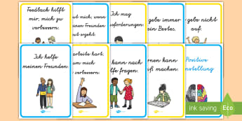 Positive Einstellung Poster DIN A4 - Positiv, positiv denken, Motivation, motivieren, Positive Einstellun