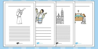 Yom Kippur Writing Frames - yom kippur, writing frames, writing