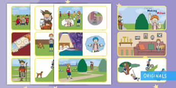 The Making of Milton Story Sequencing Cards - courage, story, Story sequencing cards, KS1, EYFS, story retelling, twinkl fiction, twinkl originals