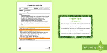 EYFS Pea Squashing Finger Gym Plan and Prompt Card Pack - Supertato, Sue Hendra, superheroes, the princess and the pea, pea, peas, finger fitness, fine motor,
