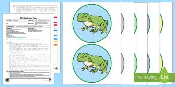 EYFS Frogs on a Lily Pad Counting Activity Adult Input Plan and Resource Pack - mathematics, number, counting, irregular arrangement, objects, frogs, lily pad, EYFS, Early Years Pl
