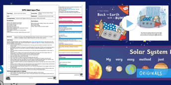 EYFS Colours of the Sun Colour Mixing Activity Adult Input Plan and Resource Pack - back to Earth with a Bump, Twinkl Originals, fiction, Early Years Planning, Adult Led, EYFS, Foundat