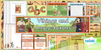 History: Vikings and Anglo-Saxons LKS2 Unit Additional Resources