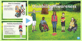 KS2 Disability Awareness PowerPoint - Disability Awareness, 16th July, disabled, Additional needs, Awareness