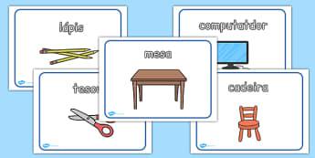 Classroom Posters Portuguese - portuguese, classroom, posters, display, display posters