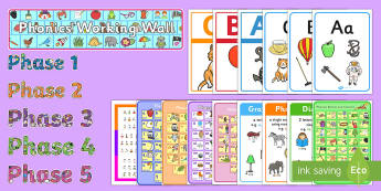 Phonics Display Resources - - phonics, display, poster, banner