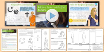 Bullying Lesson Pack - Conflict, bullying, religion