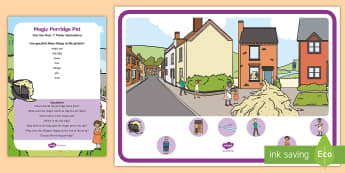 The Magic Porridge Pot Can You Find...? Poster and Prompt Card Pack - porridge pot, i spy, spot, observation skills, finding items
