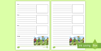 Sports Day Recount Writing Frames - sports day, recount, writing frame