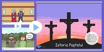 Povestea sărbătorii de Paști - PowerPoint - poveste, sărbătoare, Paște, religie, Power Point, prezentare, Paști, primăvară, materiale, materiale didactice, română, romana, material, material didactic