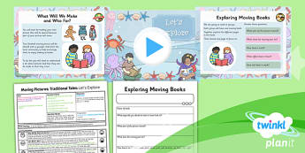 D&T: Moving Pictures: Traditional Tales: Let's Explore KS1 Lesson 1