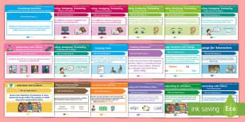 Australian Curriculum - English Content Descriptions Display Pack - Australian Curriculum English Content Descriptions Display Posters, Content Descriptors, Literature