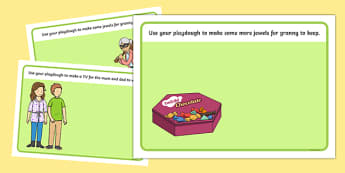 Criminal Granny Playdough Mats - gangsta granny, criminal granny, david walliams, display, literacy, EYFS, KS1, fine motor skills, independent learning, modelling clay