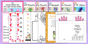 Top 10 Mother's Day Resource Pack - top ten, resource pack, mothers day