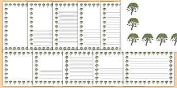 Rowan Tree Themed Page Borders - rowan tree, themed, page borders, pack, page, borders