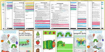 EYFS Adult Input Planning and Resource Pack to Support Teaching on The Very Hungry Caterpillar - pack