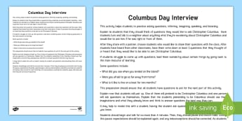 Columbus Day Teaching Ideas - Christopher Columbus, Columbus Day, Fall, October, Holiday, Explorer