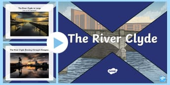 The River Clyde Photo PowerPoint - Scottish Cities, City, River Clyde, Glasgow, Shipbuilding, Lanark, ships, boats, images, photographs