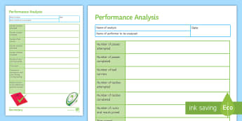 Rugby: Analysis of Performance Activity Sheet - Rugby, KS3, PE, Analysis, performance, peer assessment, non-particpant, worksheet