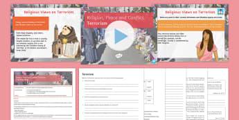 Terrorism Lesson Pack - Terrorism, Islam, Christianity